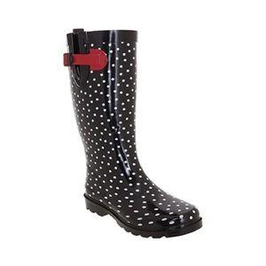 Capelli Ladies Tall Sporty Rubber Rain Boots
